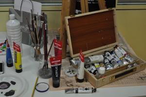 Materiales pintura Academia RomaralART
